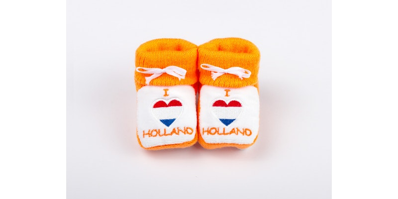 Slofjes I love holland