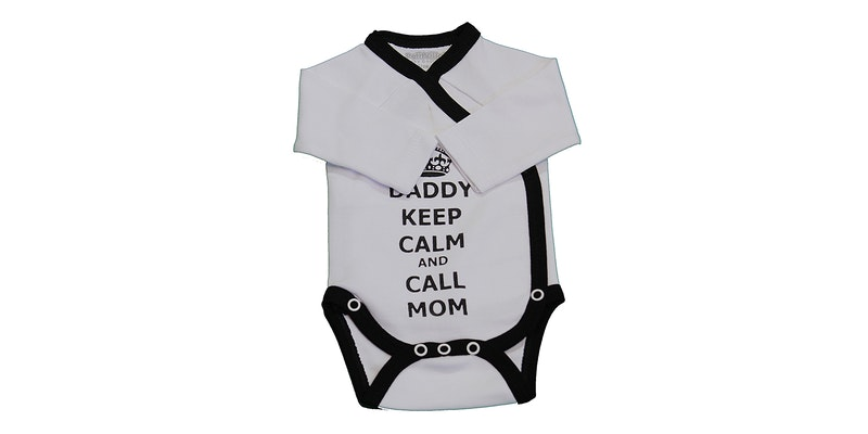 Romper daddy keep calm