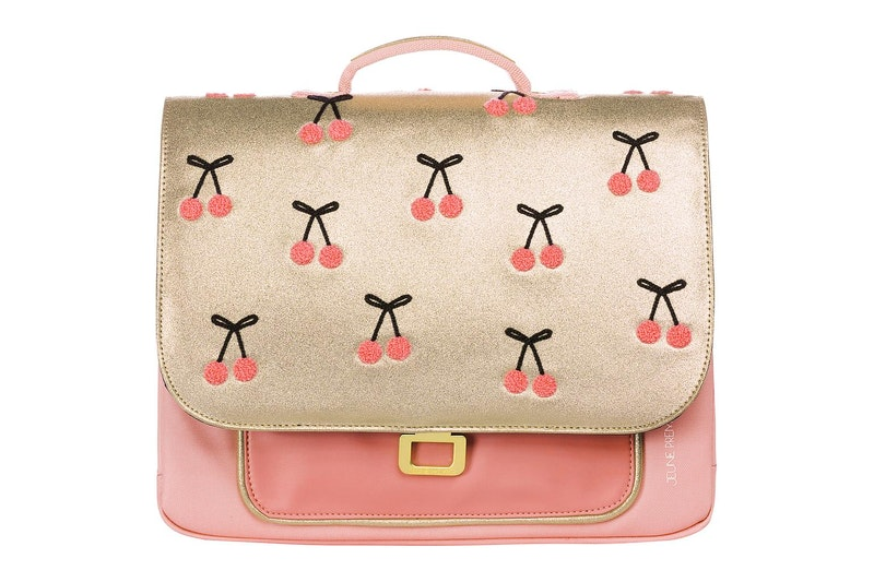 Boekentas It bag Mini Cherry Pompon
