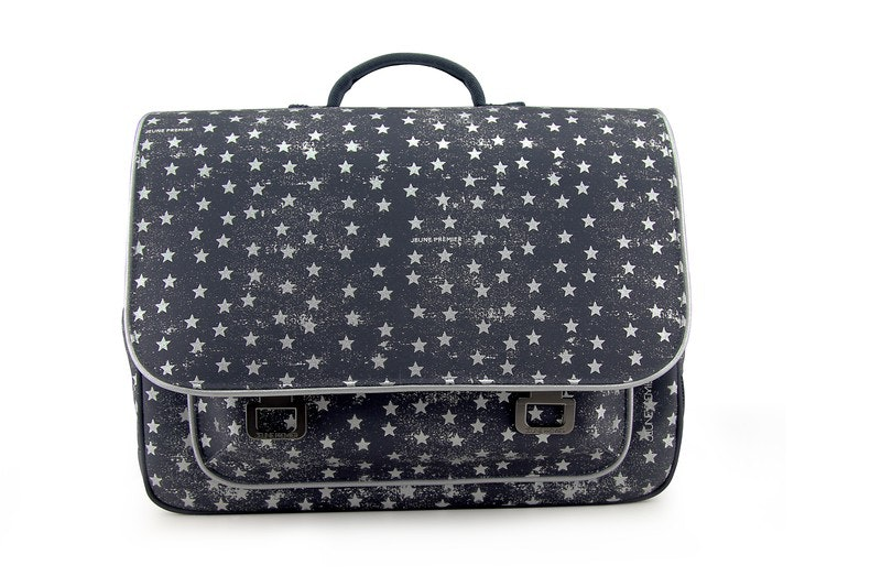 Boekentas It bag Midi Stars Silver