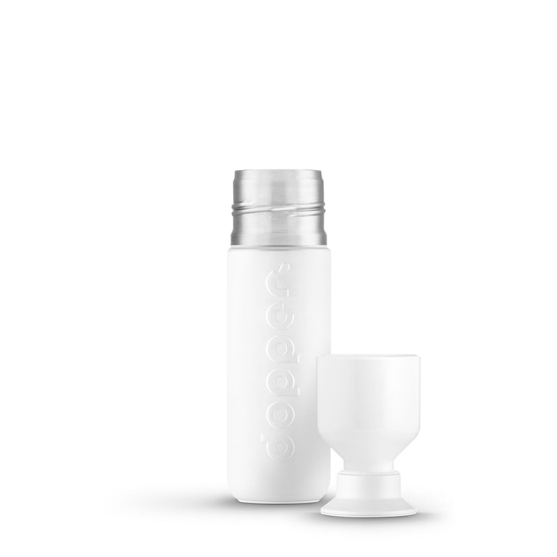 Insulated 350ml Golvend Wit