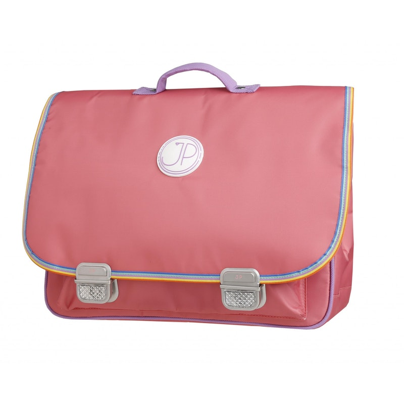 Boekentas School bag Paris Large Pink Rainbow