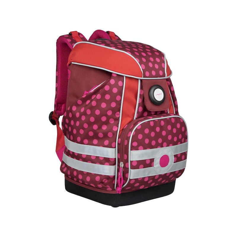 Schooltas Dottie Red