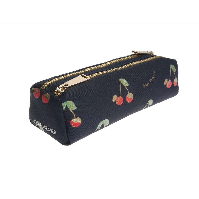 Pencil Case Double Love Cherries