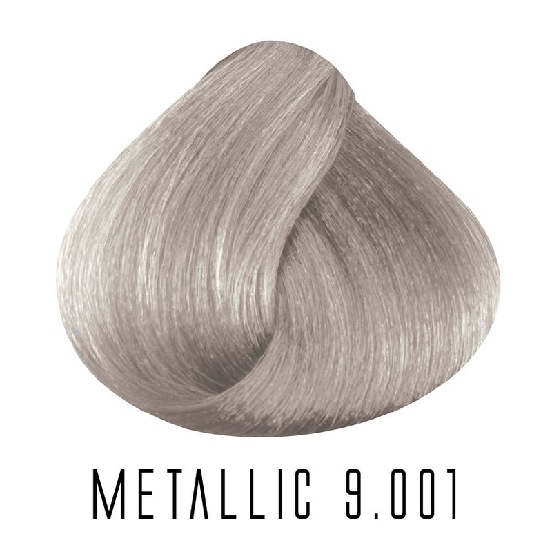 9.001 Metallic Very light Intense Ash Blonde