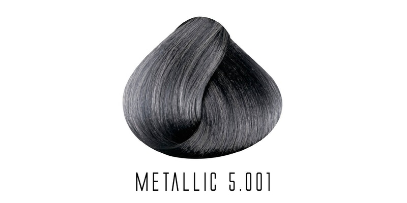5.001 Metallic Light Intense Ash Brown