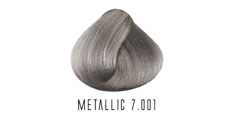 7.001 Metallic Intense Ash Blonde