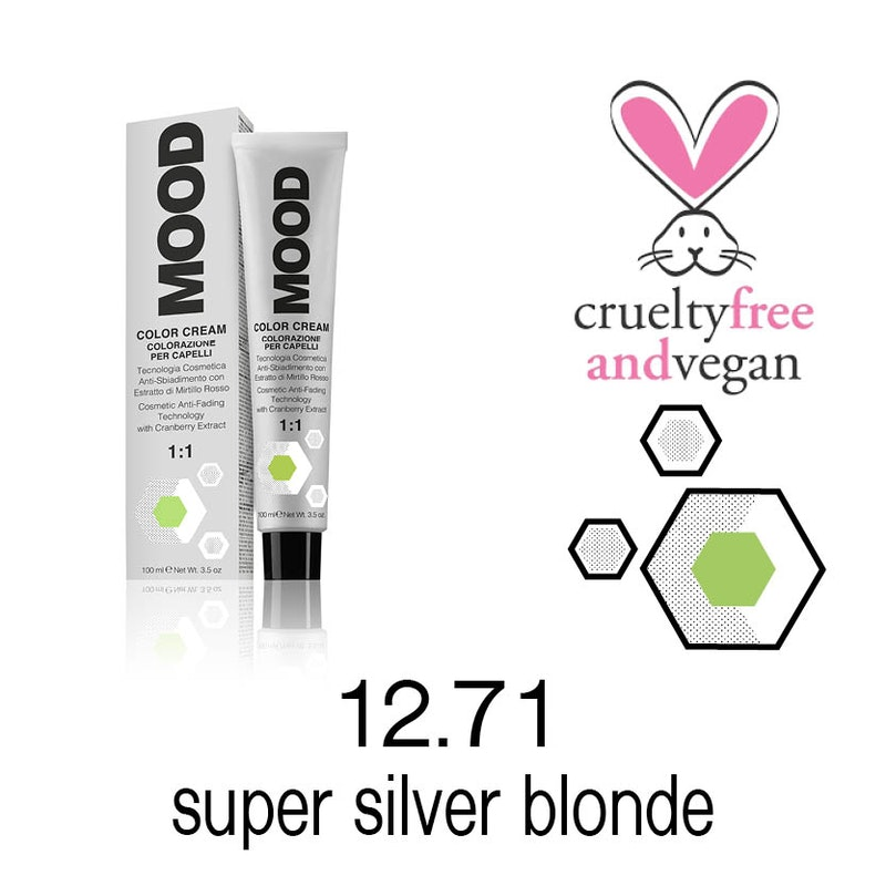 Color Cream 12.71 - Super Silver Blonde