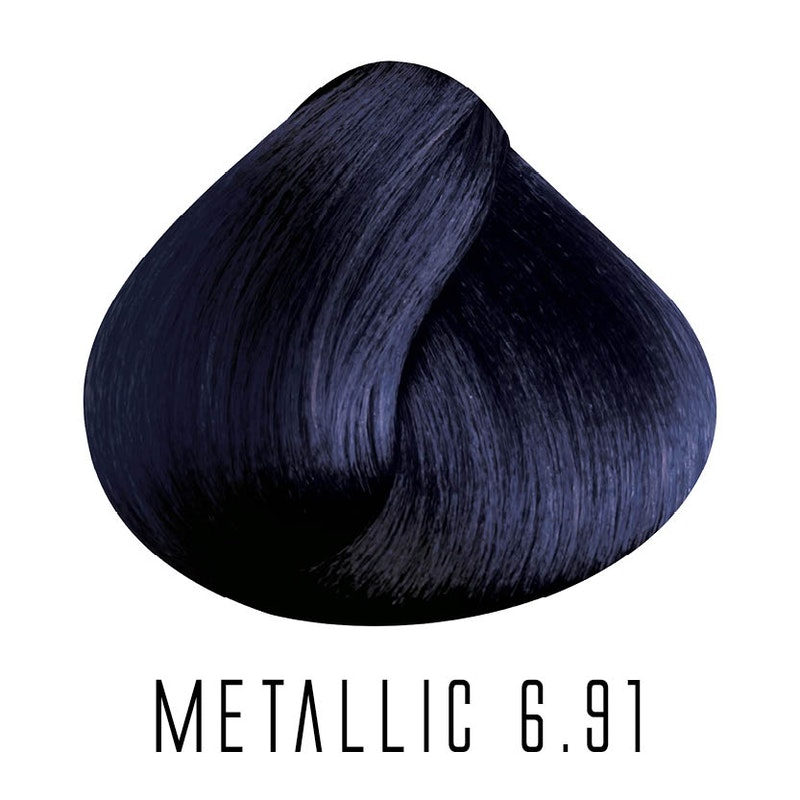 6.91 Metallic Ink Blue