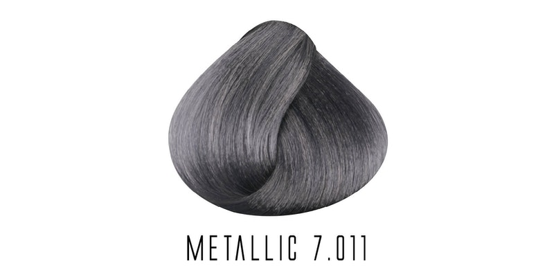 7.011 Metallic Medium Ash Marine blonde
