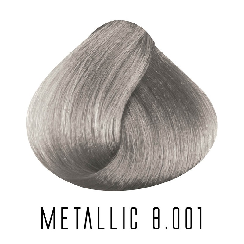8.001 metallic Light Intense Ash Blonde