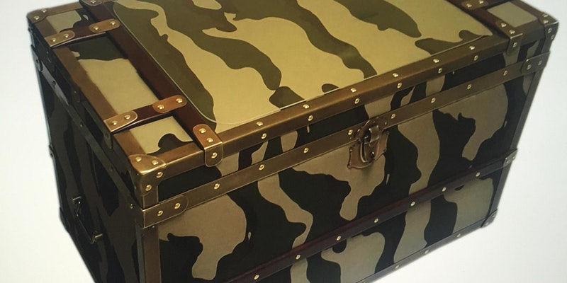 Army trunk camouflage