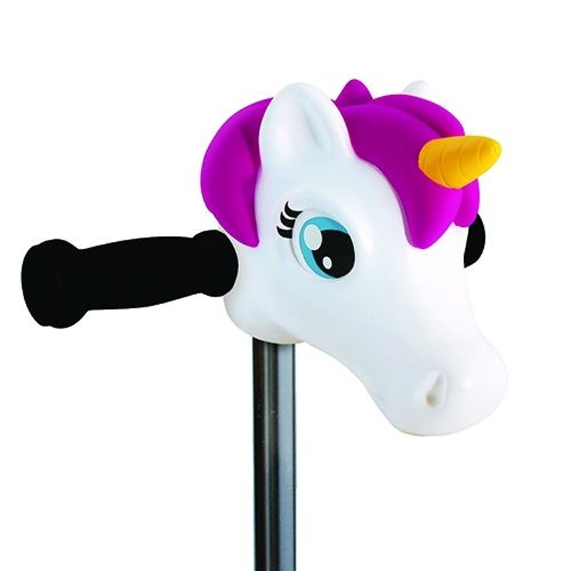 Scootaheadz White Unicorn