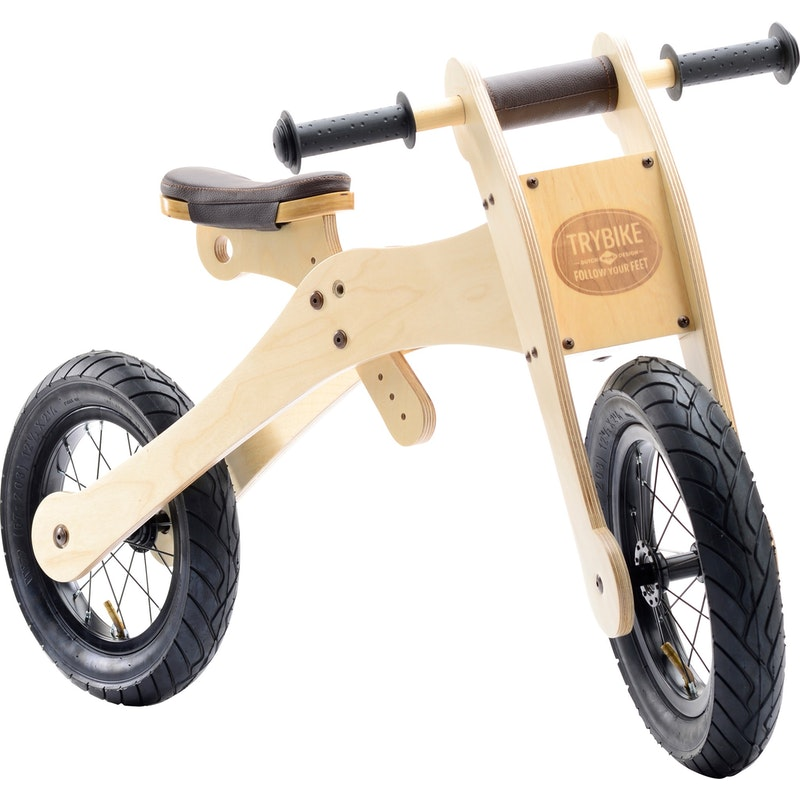 Loopfiets 4 in 1 hout