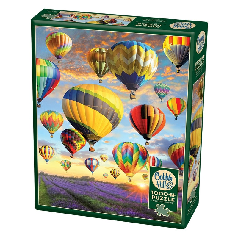 Hot Air Balloons 1000 stuks