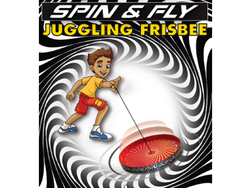 Spin & Fly Juggling Frisbee rood