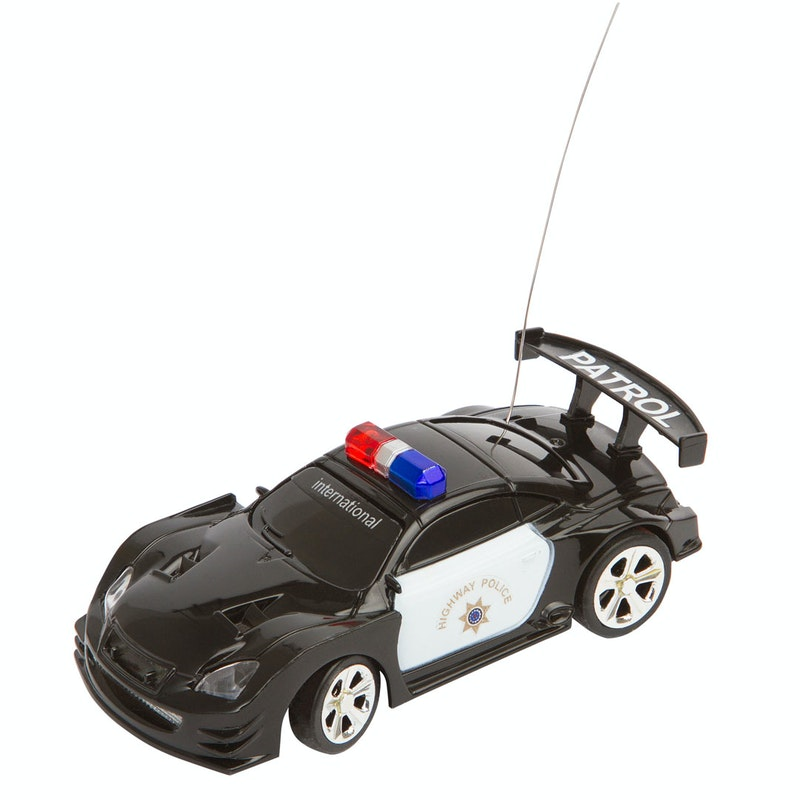RC Police Mini Racer