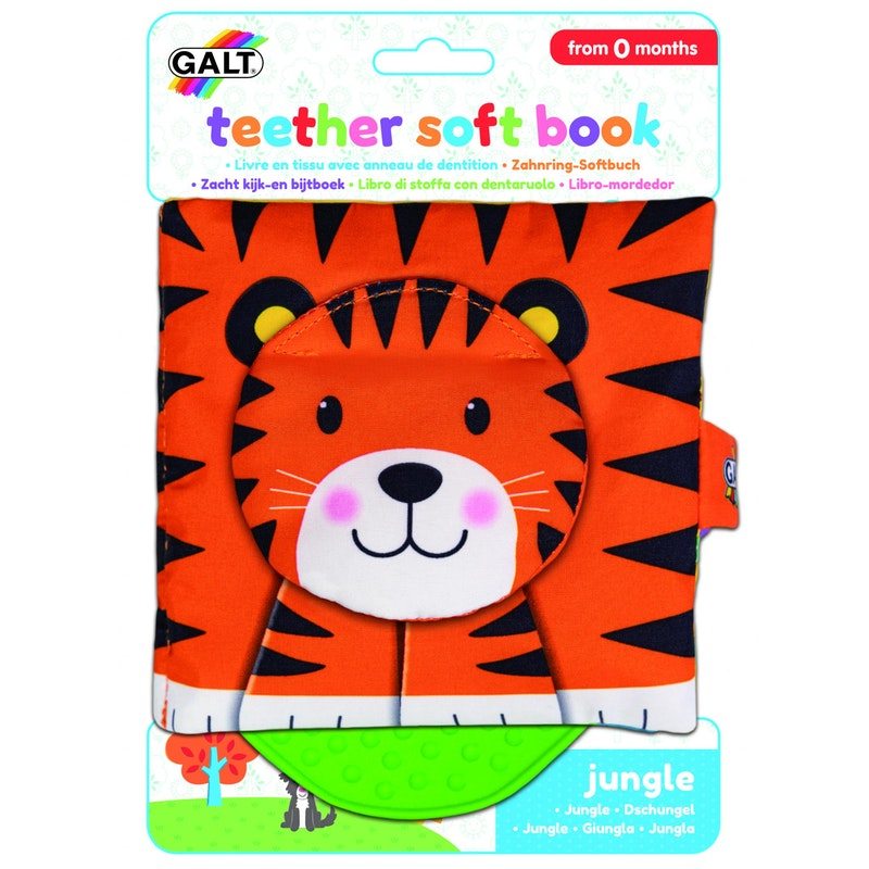 First Years - Teether Soft Book – Jungle