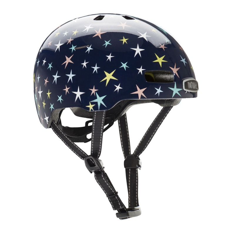 Little Nutty Stars are Born Gloss MIPS Helmet XS