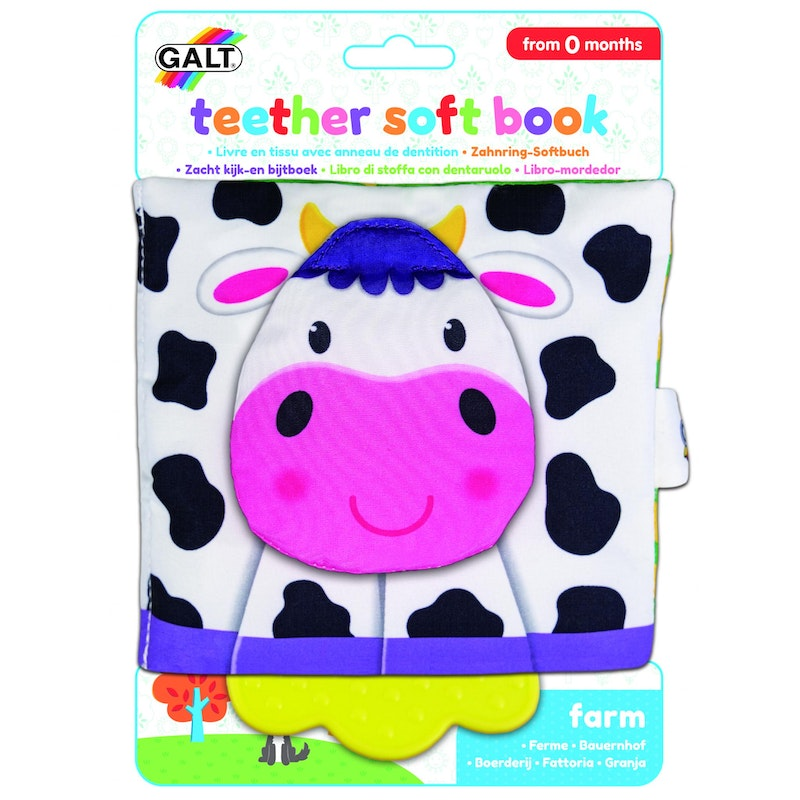 First Years - Teether Soft Book – Farm