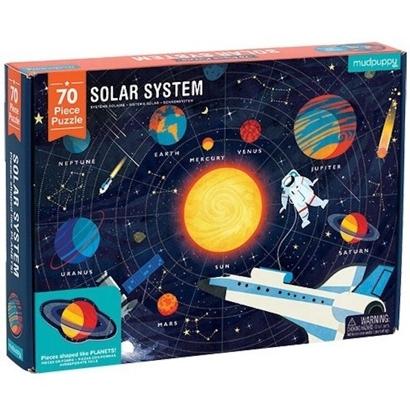 Puzzel Solar System 70st.
