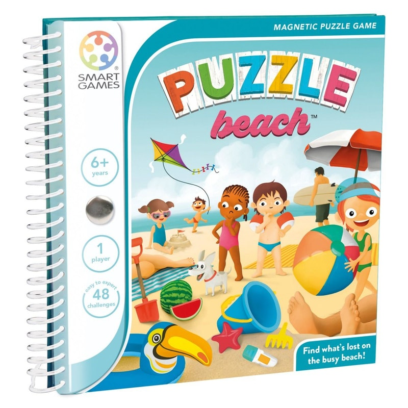 Magnetic  travel Puzzle Beach