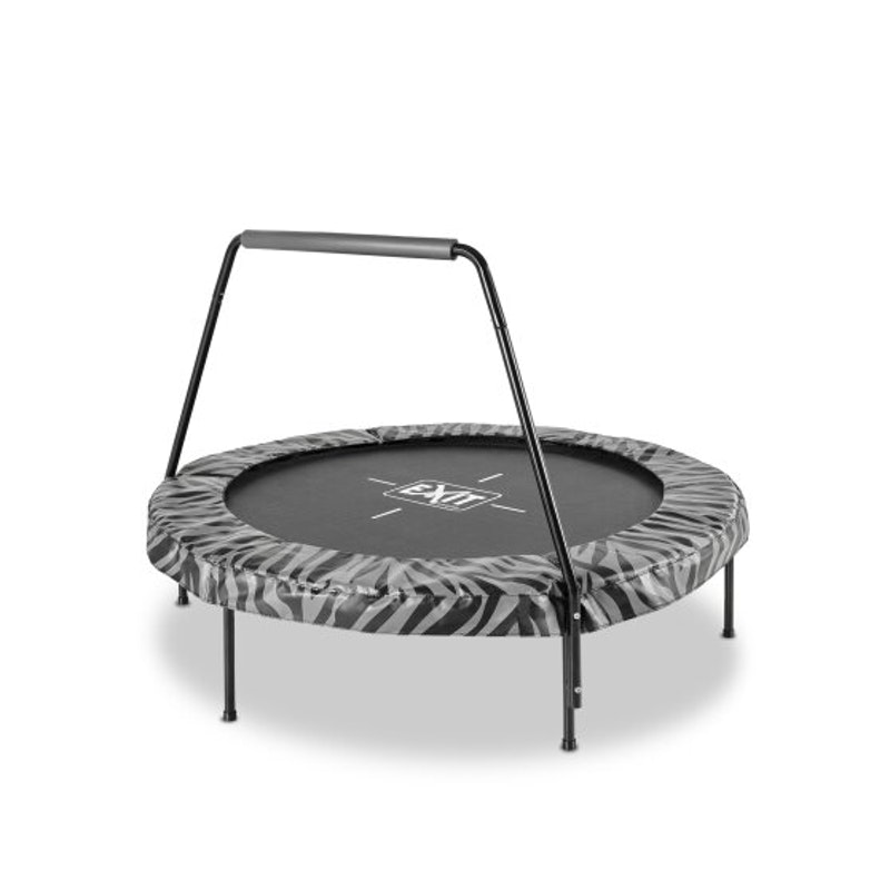 Tiggy Junior Trampoline ø140cm Black + Handle Bar