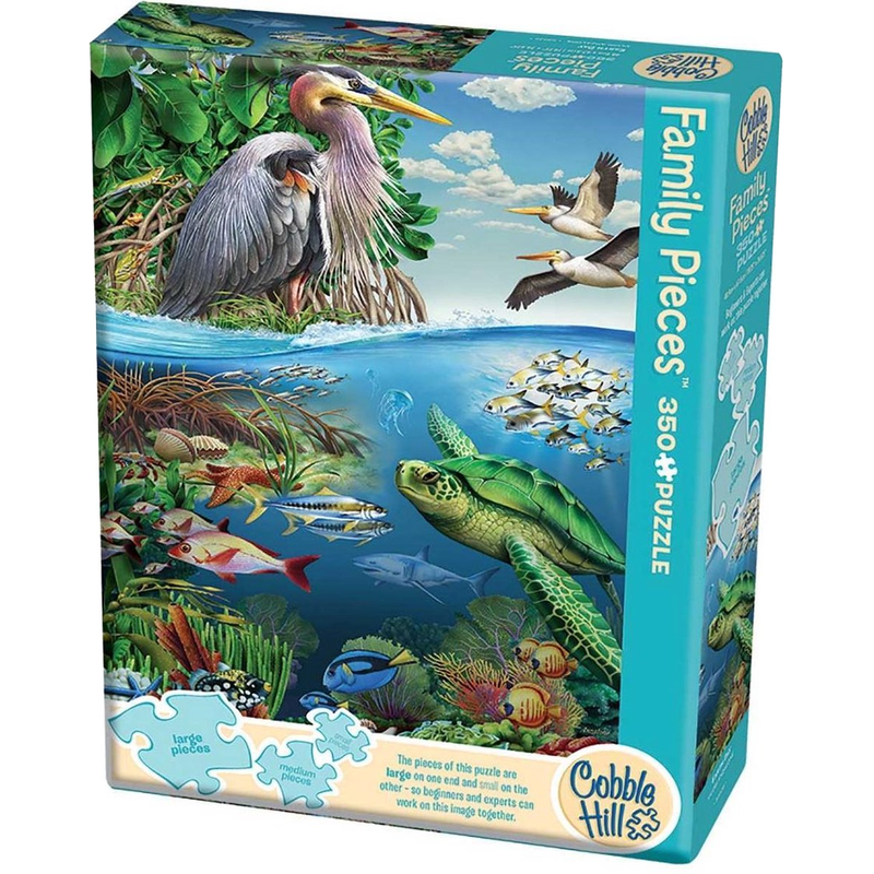 Family puzzle 350 pieces - Earth Day