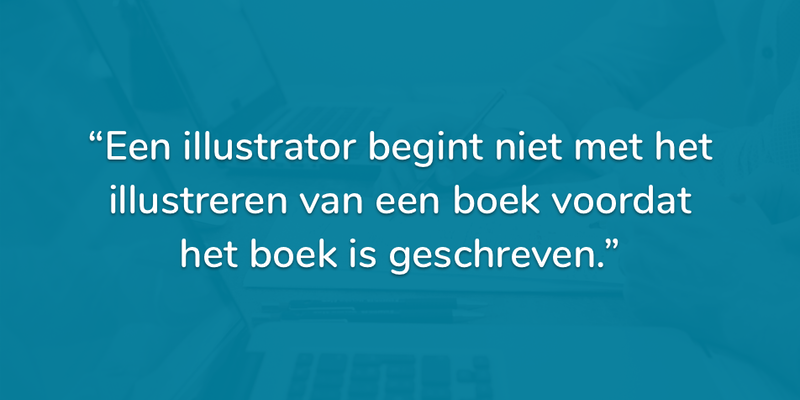 Begin je website met inhoud