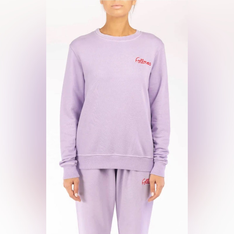 Kourtney Lilac Crewneck